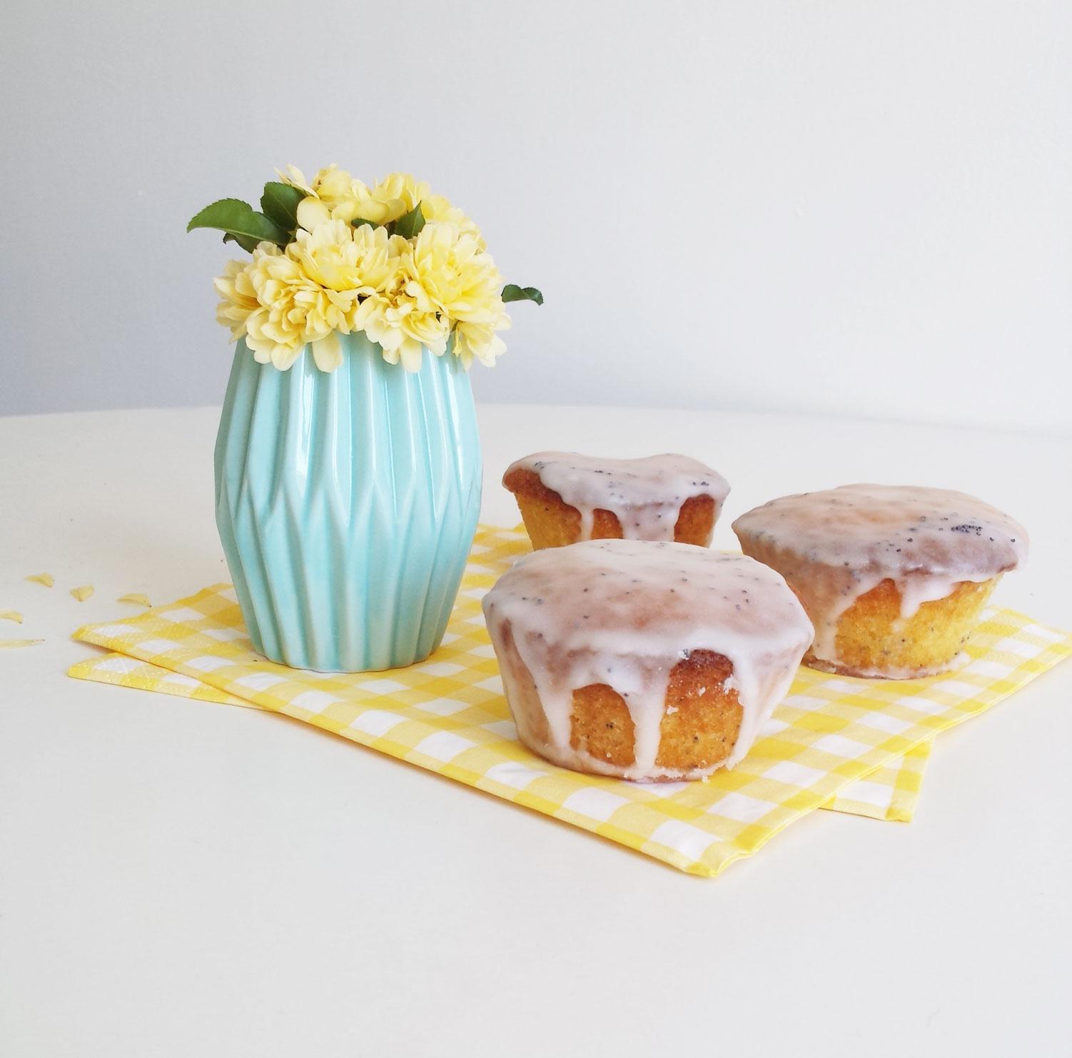 Cupcakes citron pavot