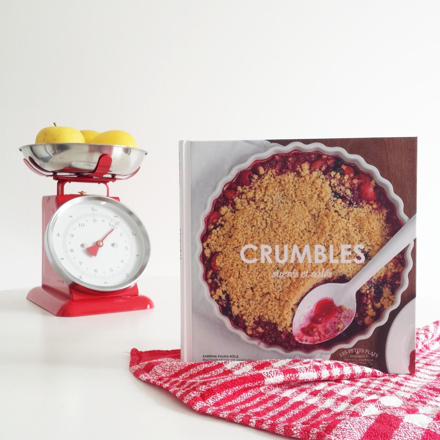 Livre de cuisine Crumbles
