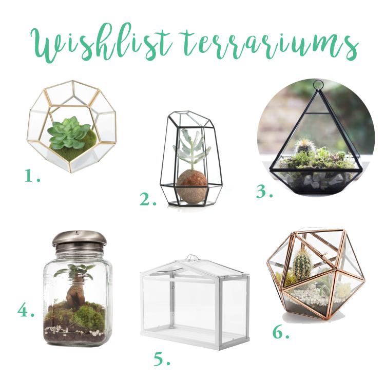 Wishlist terrariums déco
