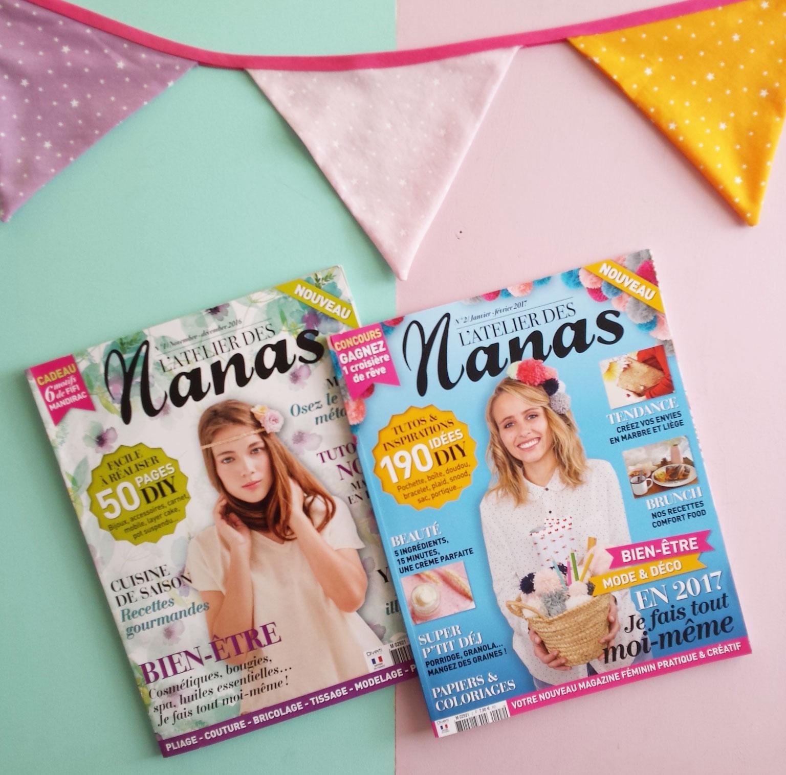 L'atelier des nanas magazine