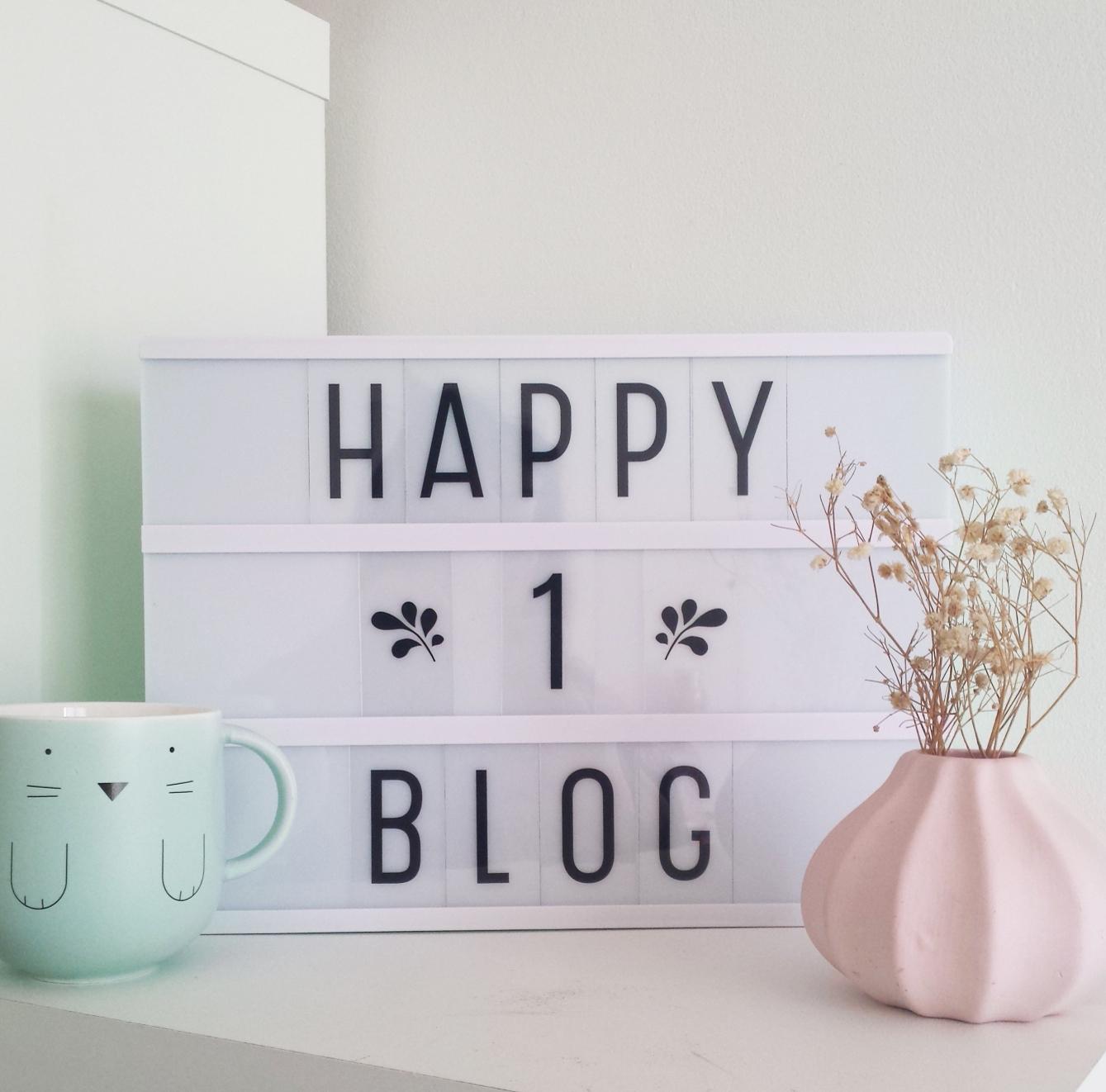 Anniversaire blog un an